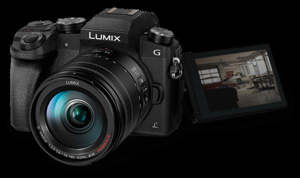 Videoproduktion Lumix G70 Mockup