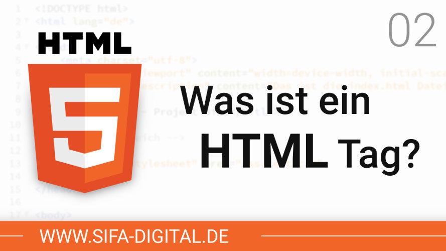 Was ist ein HTML Tag?`