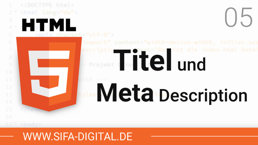 Titel und Meta Description