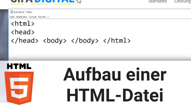 Thumbnail HTML Grundkurs Video 03