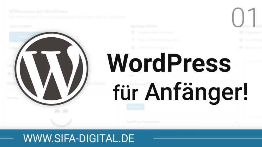 WordPress für Anfänger!