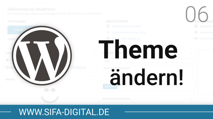 WordPress Theme ändern