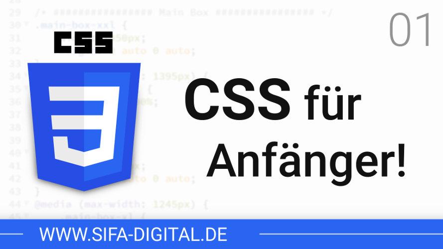 CSS für Anfänger!