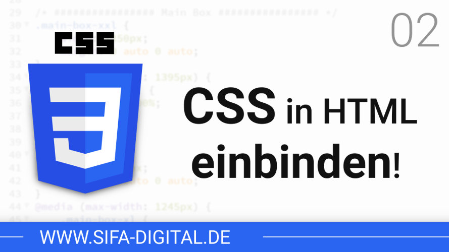 CSS in HTML einbinden