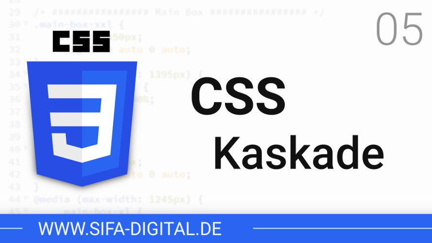 Was ist die CSS Kaskade?