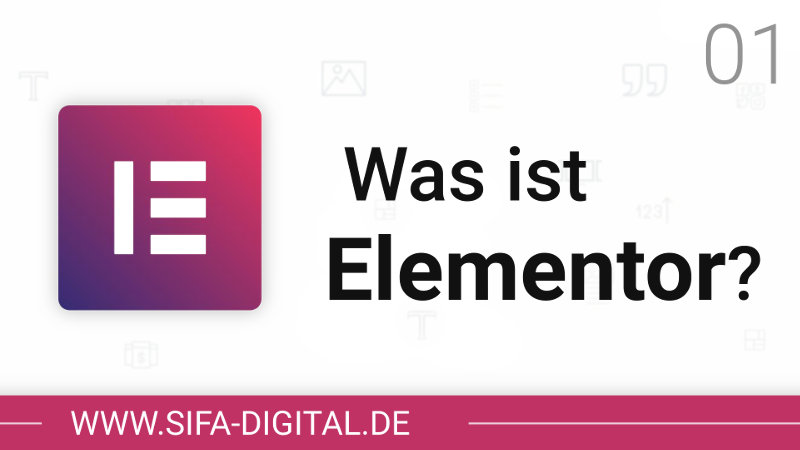 Thumbnail: Was ist Elementor?