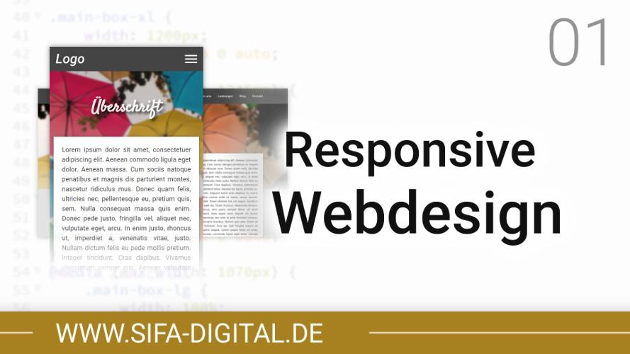 Responsive Webdesign: Tutorial für Anfänger